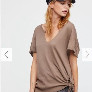 Free Peoplw Oversized Top